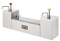 Serving Station With Stainless Steel pump