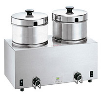 Twin 4-qt (3.8 l) food server