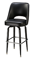 Regal Bar Stool P-2-85BLK