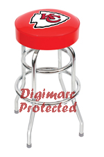 Kansas City Chiefs bar stools, pool cues, dart boards, pub tables, pub table lamps and  merchandise