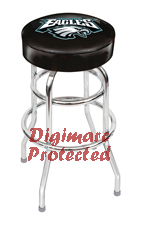Philadelphia Eagles bar stools, pool cues, dart boards, pub tables, pub table lamps and  merchandise