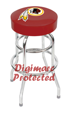 Washington Redskins  bar stools, pool cues, dart boards, pub tables, pub table lamps and  merchandise