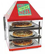 Wisco pizza ovens, double door pizza merchandisers