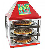 Wisco 680-3 pizza merchandisers