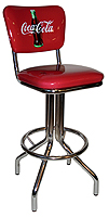Coke Diner Stool Heavy Base