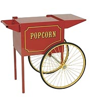 Medium popcorn cart for all Paragon 6oz and 8oz popcorn poppers