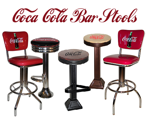 Coca Cola Bar Stools New