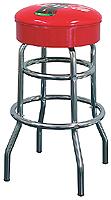 Classic Coke bar stools