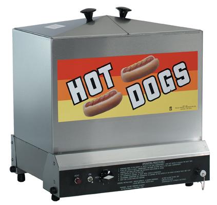 nemco hot dog machines gold medal hot dog steamers economy hot dog roller grills hot dog equipment. Black Bedroom Furniture Sets. Home Design Ideas