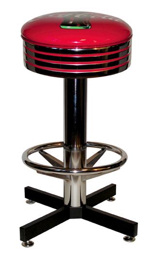 Coca cola bar stools new 360 degree swivel watchthetrailerfo