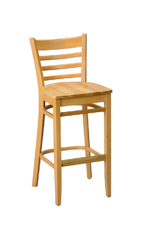 Barstool 415 Amp Chair 412 Ladded Back All Wood
