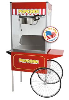 classic 14 popcorn machine wcart