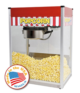 14oz popcorn machines - Gold Medal Popcorn