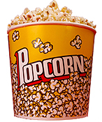 Mouthwater Popcorn Supplies-Popcorn, scoops, bags, & other cool items.