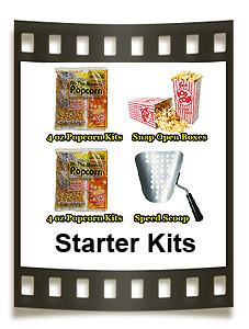 Choose from traditional starter kits or theater starter kits.