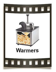 Warm up your butter topping with our quality Server popcorn butter warmers.