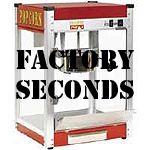 Blemished and factory seconds popcorn machines-Save $$